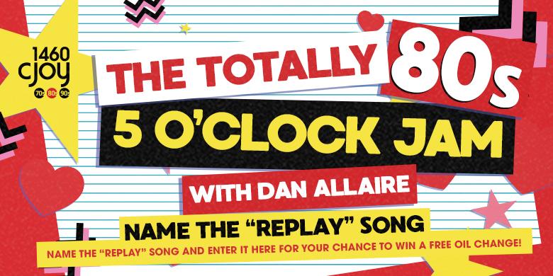 Totally 80's 5 o'clock Jam!